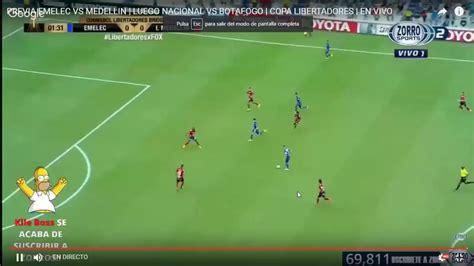 EMELEC VS MEDELLIN en vivo copa libertadores 2017   YouTube