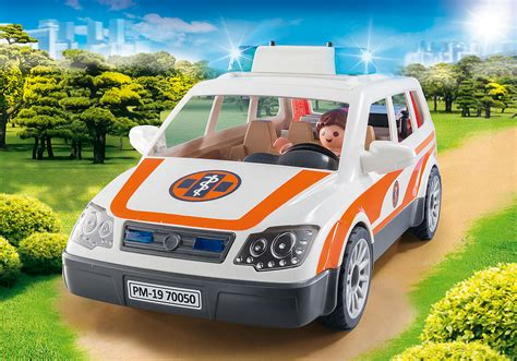 Emergency Car with Siren   70050   Playmobil Northern ...