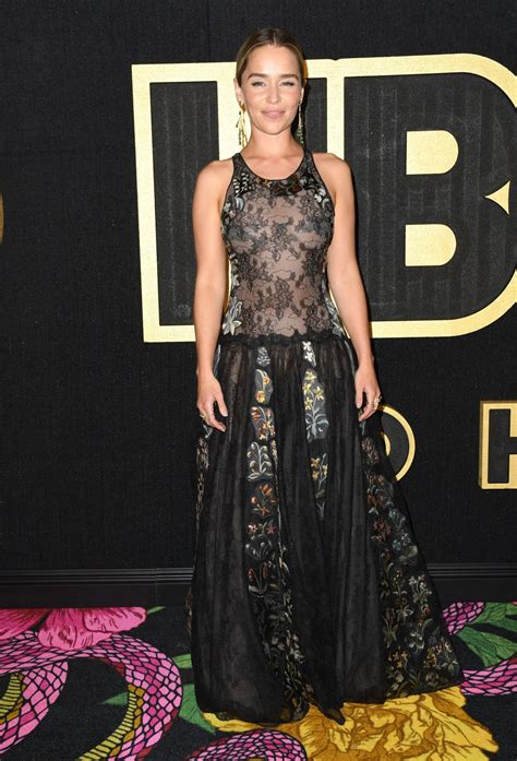 Emilia Clarke At 70th Primetime Emmy Awards HBO Party in ...