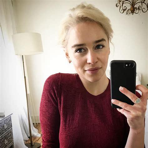 Emilia Clarke Dyes Her Hair Khaleesi Blonde | PEOPLE.com