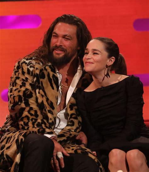 Emilia Clarke   Graham Norton Show in London 10/25/2019 ...