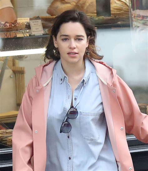 EMILIA CLARKE Out and About in London 05/18/2017   HawtCelebs
