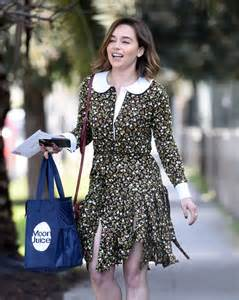 Emilia Clarke – Leaving her home in Los Angeles – GotCeleb