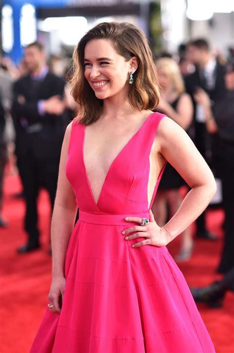 Emilia Clarke   Screen Actors Guild Awards 2016 at Shrine ...