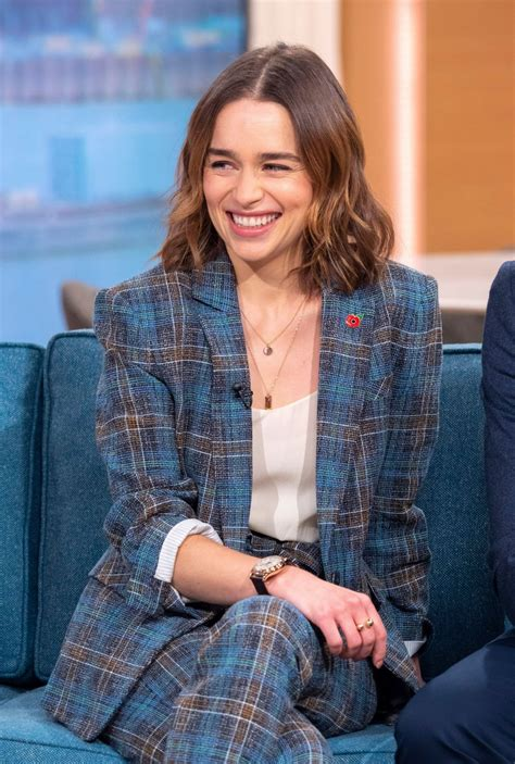Emilia Clarke Visits This Morning in London   Celebzz ...