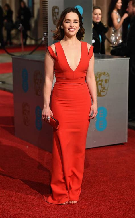 Emilie Clarke from 2016 BAFTA Film Awards: Celebrity ...