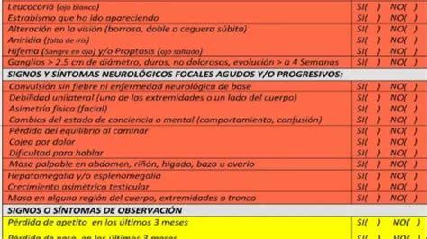 Emiten guía cuestionario para detectar en Chihuahua el ...