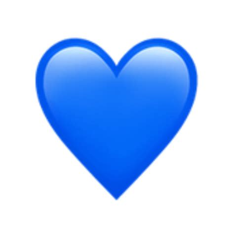 emoji corazonazul azul corazón emojis stikers...
