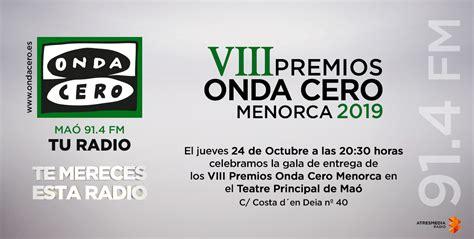 Emotiva gala de los Premios Onda Cero Mallorca   Centre ...
