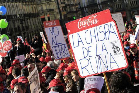 Empleados de Coca Cola recorren 20 kilómetros en Madrid ...