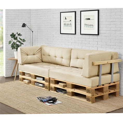 [en.casa] Palettenkissen In/Outdoor Paletten Kissen Sofa ...