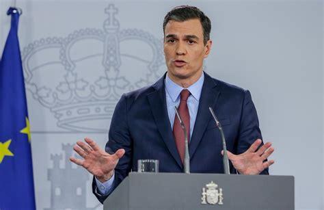 En directo: Pedro Sánchez anuncia las medidas del Estado ...