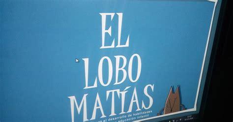 En el aula de Marta: El lobo Matías: actividad en la ...