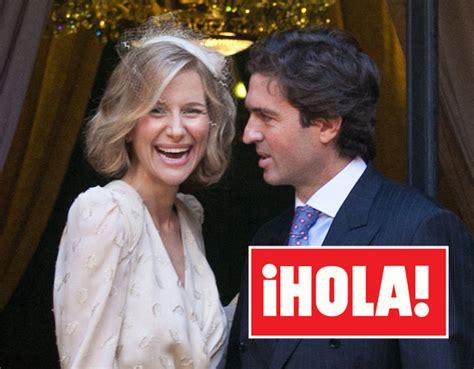 En ¡HOLA!: La original y elegante boda de María León y ...