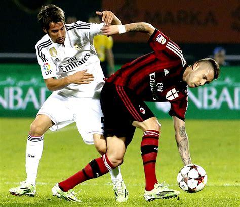 En imágenes, la victoria del AC Milán al Real Madrid en ...