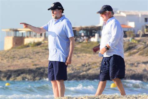 EN IMÁGENES | Mariano Rajoy disfruta del verano en Formentera