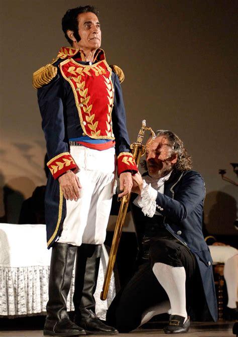 En la Habana obra teatral dedicada al Libertador Simón ...
