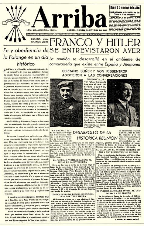 En la Prensa de Aquel Día: ARRIBA  1935 1979