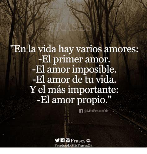 En La Vida Hay Varios Amores El Primer Amor El Amor ...