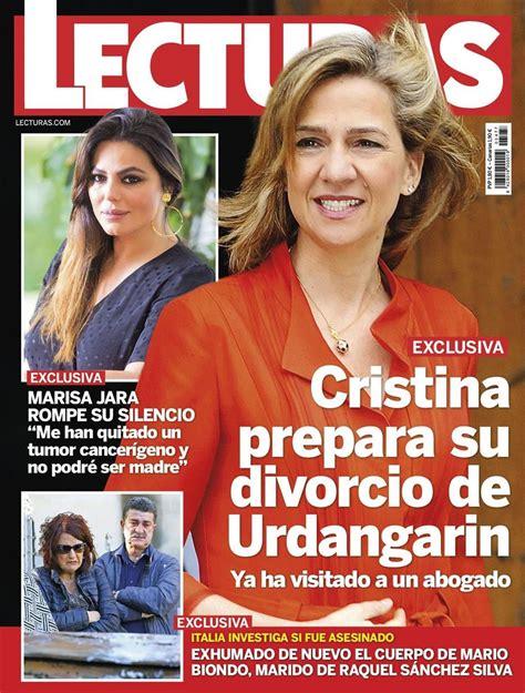 En Lecturas, la infanta Cristina prepara su divorcio con ...
