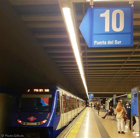 En ocasiones veo números #10   Línea 10 del metro de ...