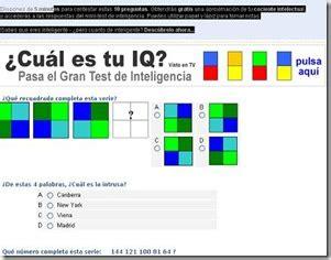 En testdeinteligenciagratis.com calcula tu iq ...