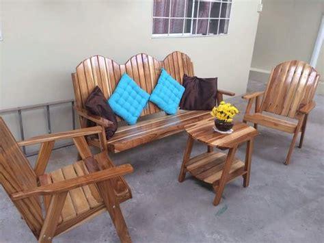 En venta juego de terraza de madera de teca   Muebles ...