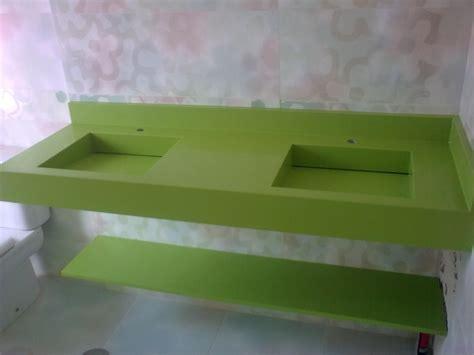 Encimera de baño con lavabos integrados a medida Silestone ...