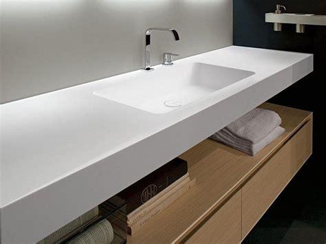 Encimera de lavabo de Corian ARCO by Antonio Lupi Design ...