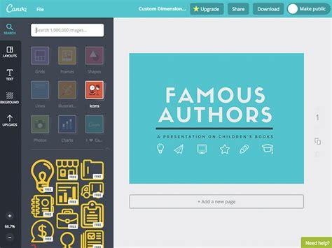 Encuentra iconos gratis para tus proyectos con Canva