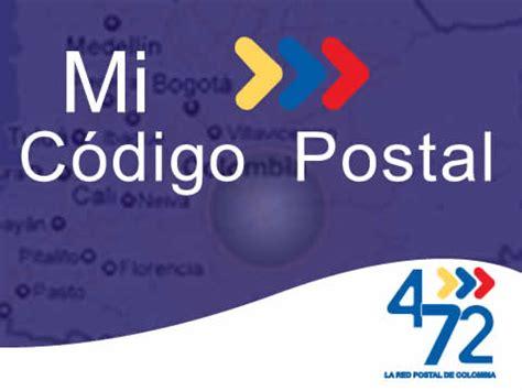 Encuentra tu código postal en el mapa de Colombia