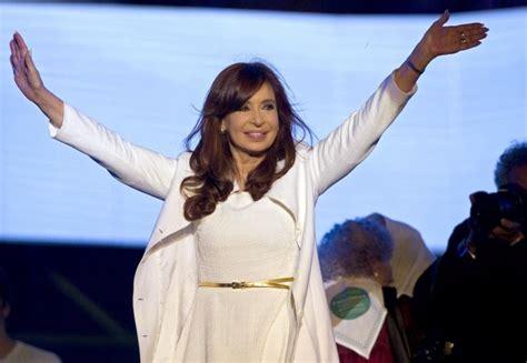 Encuesta: la presidenta Cristina Fernández de Kirchner ...