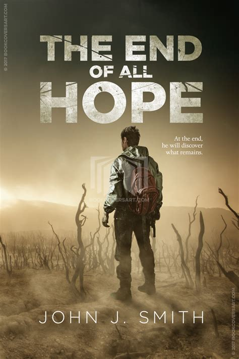 End of All Hope   The Book Cover Designer