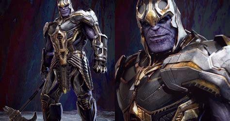 Endgame casi le dio a Thanos un hacha de batalla en lugar ...