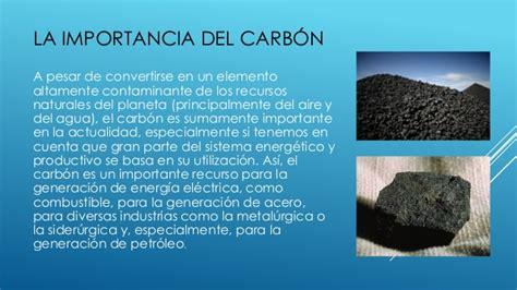 energia del carbón