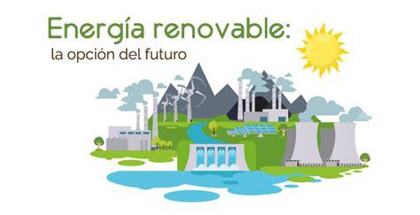 Energía renovable: la opción del futuro