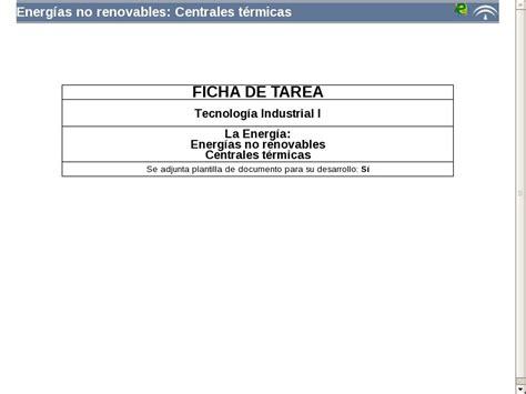 Energías no renovables: Centrales térmicas   Didactalia ...