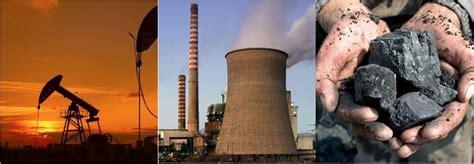 ENERGÍAS NO RENOVABLES | Ejemplos y características