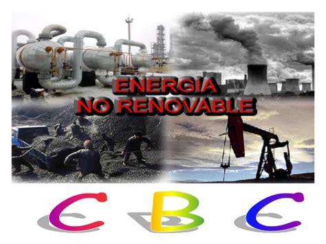 Energias no renovables.