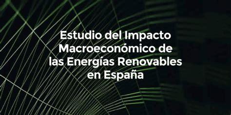 Energías renovables en España; máxima actividad del sector ...