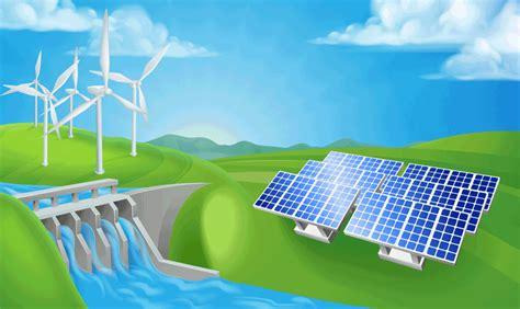 Energías Renovables: TIPOS DE ENERGÍAS LIMPIAS