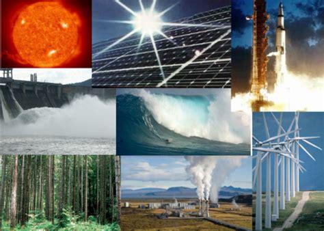 Energías Renovables y No Renovables【 Tipos de energía ...