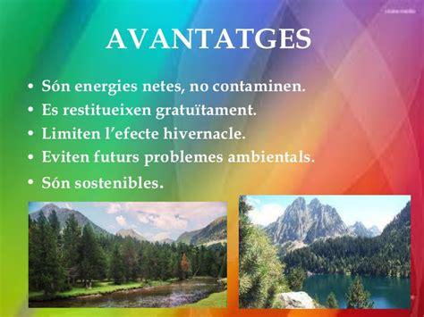 Energies no renovables i renovables