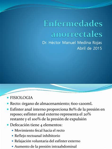 Enfermedades Anales | Hemorroides | Recto | Prueba ...