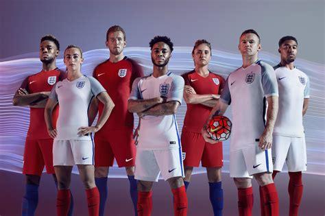 England 2016 National Men and Women's Football Kits   Nike ...