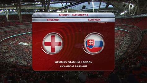 England vs Slovakia Full Match Replay   WC Qualification ...