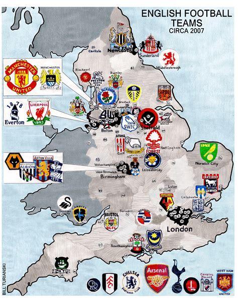 English Football League 2006 2007 « billsportsmaps.com