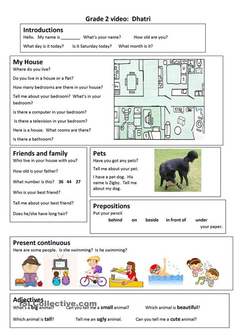 English grammar worksheets for grade 2 pdf New South Wales
