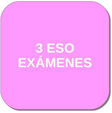 ENGLISH. Inglés de 3º ESO. Recursos, evaluación, exámenes ...