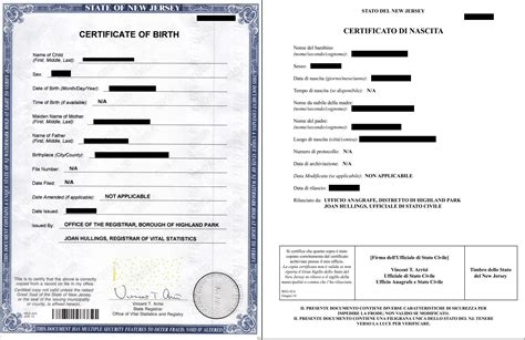[English > Italian] Did I translate this birth certificate ...